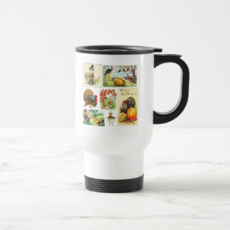 Thanksgiving Medley Vintage mugs