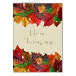 Thanksgiving Message Friendship Card Card