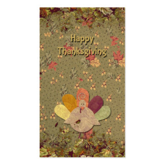 Thanksgiving Mini Cards Pack Of Standard Business Cards