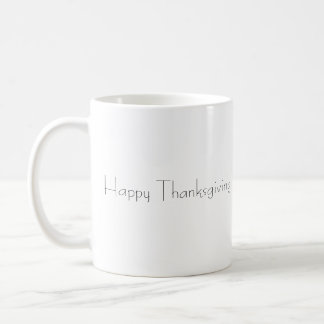 Thanksgiving Coffee Mug