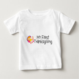 Thanksgiving My First Thanksgiving Baby T-Shirt