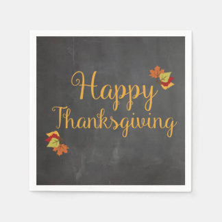 Thanksgiving Napkins Disposable Serviette