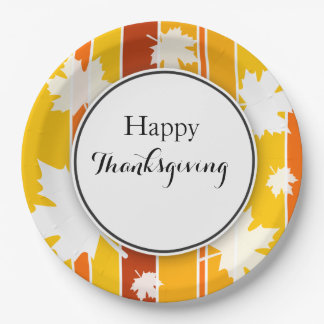 Thanksgiving Paper Plate