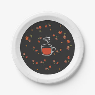 Thanksgiving paper plates 7 inch paper plate