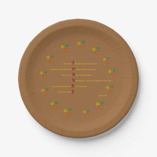 Thanksgiving Paper Plates - James 1:17-18