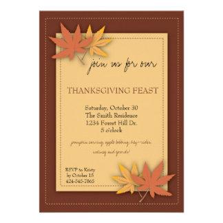 Thanksgiving Party Invitation