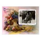 Thanksgiving Photo Greetings Postcard