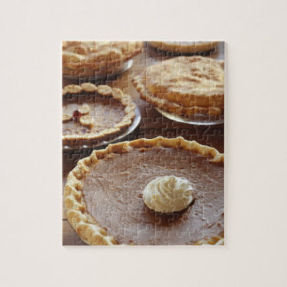 Thanksgiving pies, (Close-up) Jigsaw Puzzle