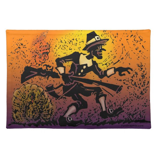 Thanksgiving Pilgrim Place Mats