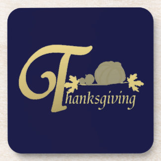 Thanksgiving - Psalm 100 Drink Coaster
