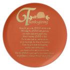 Thanksgiving - Psalm 100 Plate