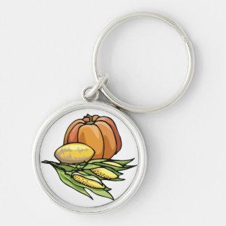 Thanksgiving Pumpkin Keychains