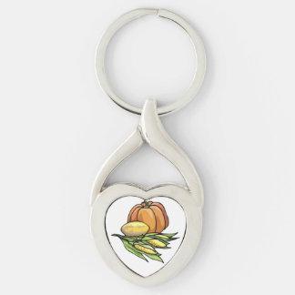 Thanksgiving Pumpkin Key Chains