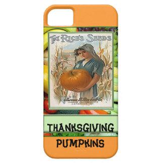 Thanksgiving Pumpkins iPhone 5 Cases