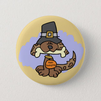 Thanksgiving Puppy button
