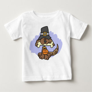 Thanksgiving puppy t-shirt