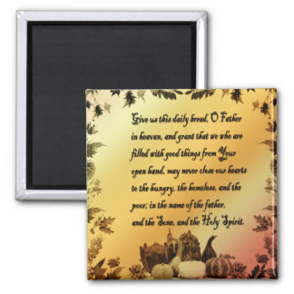Thanksgiving Quote Magnet