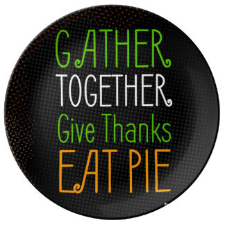 Thanksgiving retro design with rustic halftones plate