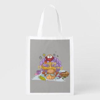 Thanksgiving Reusable Grocery Bag