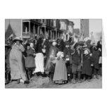 Thanksgiving Scramble, 1915 Greeting Cards