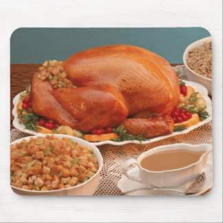 Thanksgiving spread mouse mat