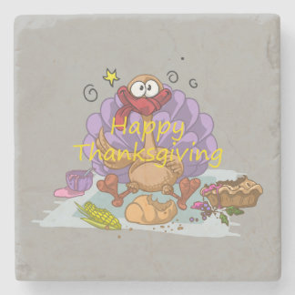 Thanksgiving Stone Coaster