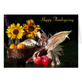 Thanksgiving Sunflowers card