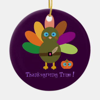 Thanksgiving Time! Christmas Ornament