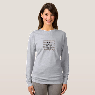 Thanksgiving To Do List T-Shirt