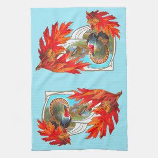 Thanksgiving Towel Decor, Retro!