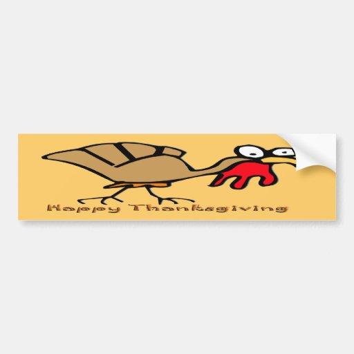 Thanksgiving Turkey Bumper Stickers