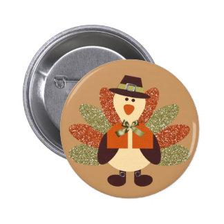 Thanksgiving Turkey Button