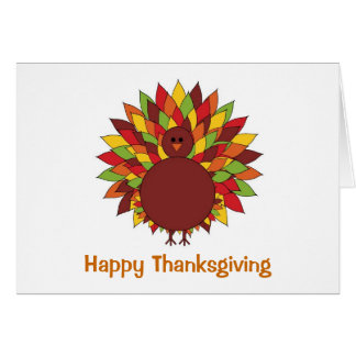 Thanksgiving Turkey Card