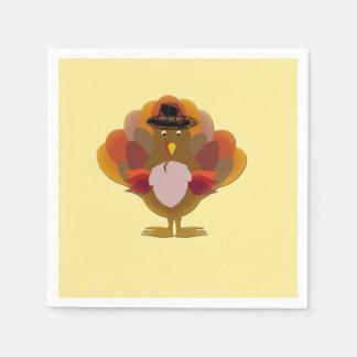 Thanksgiving Turkey Disposable Serviettes