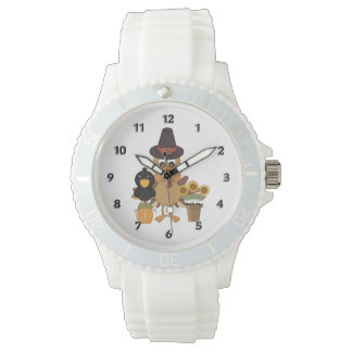 Thanksgiving Turkey Friends Watch