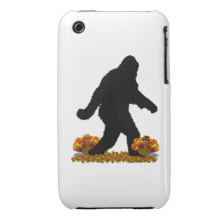 Thanksgiving Turkey Gone Squatchin iPhone 3 Covers