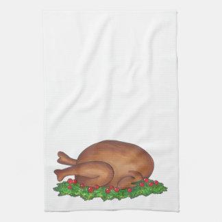 Thanksgiving Turkey Holiday Dinner Foodie Towel