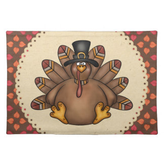 Thanksgiving Turkey Holiday Place Mat