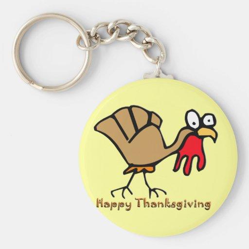 Thanksgiving Turkey Key Chain