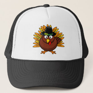 Thanksgiving Turkey Logo Create a Holiday Gift Trucker Hat
