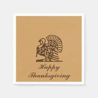 """Thanksgiving Turkey"" Paper Napkins"