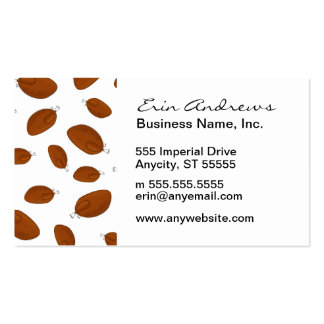 Thanksgiving Turkey pattern Pack Of Standard Business Cards