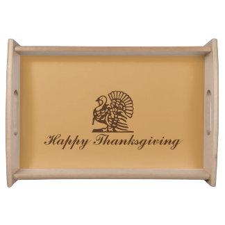 """Thanksgiving Turkey"" Serving Tray"