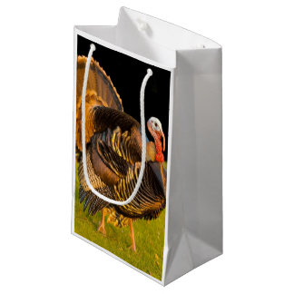 Thanksgiving turkey small gift bag
