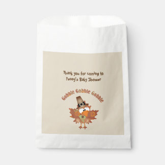 Thanksgiving Turkey theme favor bags