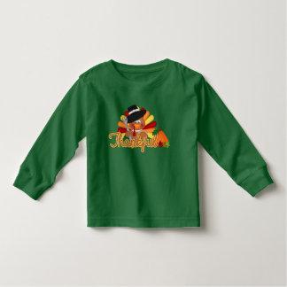Thanksgiving turkey toddler unisex t-shirt