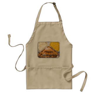 Thanksgiving TV Dinner Apron