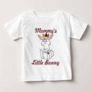 Thanksgiving White Rabbit with Indian Headdress Baby T-Shirt