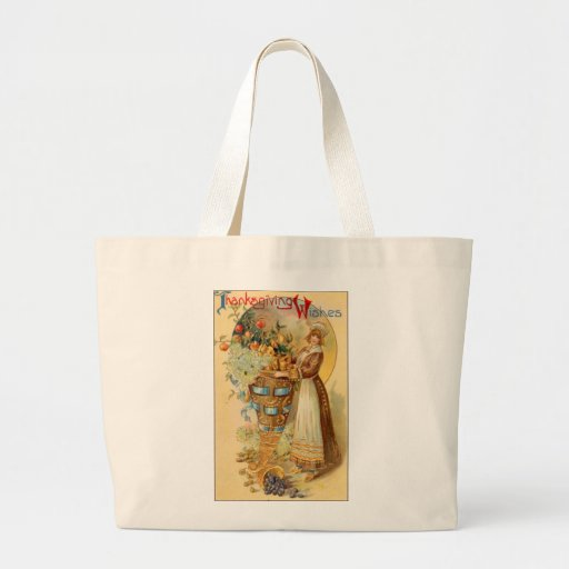 Thanksgiving Wishes Tote Bags