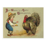 Thanksgiving Wishes Post Cards